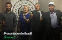 Презентация в Бразилии 2 Октябрь