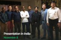 Презентация в Индии 8 Ноября