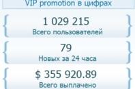 VIP promotion отзывы